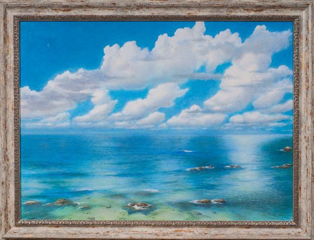 Море синее. Михаил Симонов.