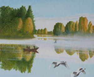 Утром на озере. Часть 2. Михаил Симонов.