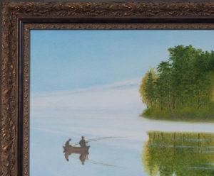 Утром на озере. Часть 3. Михаил Симонов.