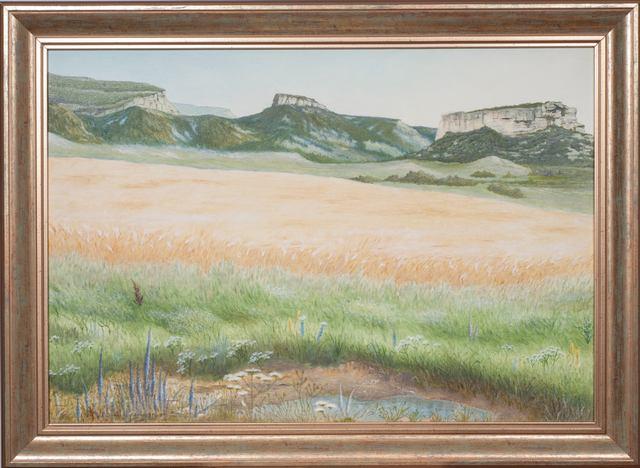 Пшеничное поле. Михаил Симонов.